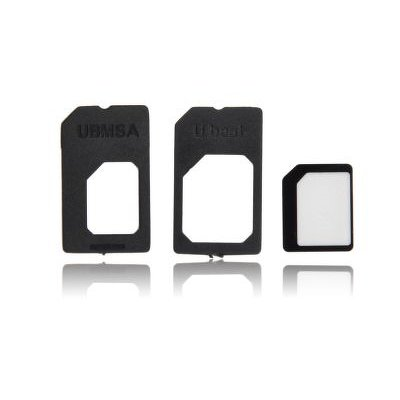 ADAPTERS NANO SIM/MICRO, MICRO SIM and NANO/SIM (3in1)